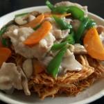 余った素麺、まずい素麺の活用法~素麺の中華あんかけ堅焼きそば風の作り方