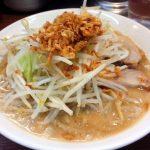 「J系ラーメン 豚五郎」(学芸大学)の二郎ラーメンを食べて来た~二郎系(?)と横浜家系(?)の2種類があるラーメン屋で、昼は半ライスがおかわり自由