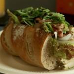 パネッテリア アリエッタの天然酵母パンでエスニック風サンドウィッチを作りました