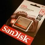 デジタルカメラ「EOS 30D」のコンパクトフラッシュ(CF)の最大容量/上限をCanon(キヤノン)に聞いてみたら、翌日に回答が返って来た!