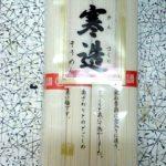 「寒造そうめん」(石丸製麺)は独特のコシで、手延べではない素麺の割に悪くない。