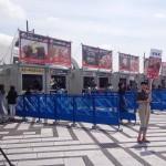 電子マネーが使える「肉フェス2015」で寺門ジモンさんの「MEAT SOLDIER」Tシャツ販売中!
