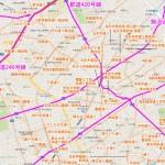 学芸大学(あるいは武蔵小山、西小山、祐天寺)周辺の通り名&商店街マップ~通り名、商店街名を知ると街が楽しくなる!