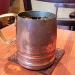 """喫茶店「コーヒー シグマ」(学芸大学・武蔵小山)は銅製のコップで飲むアイスコーヒーがとてもおいしくて、和洋折衷ピラフも絶品でした~好きな店を導く計算、膨らむ""""シグマ""""のイメージ"""
