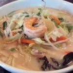清水稲荷通りのスナック&定食屋「Sunrise(サンライズ)」(学芸大学)で食べた長崎直送麺のちゃんぽんは、おいしくて楽しくて
