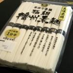「早ゆで素麺 極細 播州素麺」は典型的な機械麺