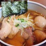 「麺処 びぎ屋」(学芸大学)のラーメンが辿りつくゼロの焦点。魚介が色濃く出た芳醇なスープと力強い麺はすべてが見事に溶け合い、そして消えて行く。