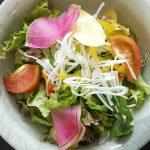 Chef's Marche/シェフズマルシェ(学芸大学)のサラダは幸せサラダ。とてつもない量・種類で激安、激ウマ。オシャレな八百屋の無謀で素敵なチャレンジ/アグリビジネスとその実例