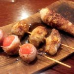 「串焼酒場フランキー」(学芸大学)に行ってみた~野菜巻き串がウリの串焼き店。日曜日は昼から営業していて夕方までは席料なしです