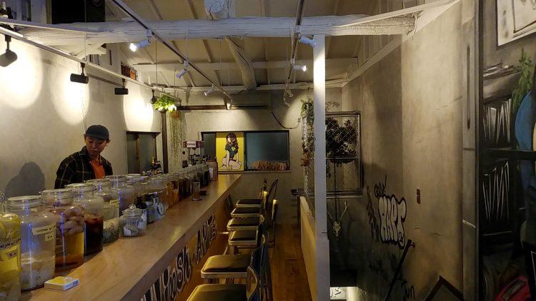 ニューヨークのバーをイメージしたバー・ヘリッシュアパートメント