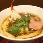 蟹ラーメンとお酒の場 香住 北よし(学芸大学)の蟹醤油ラーメンはカニの風味が豊かで、とてもバランスのいいスープでした。いくらでも飲めそうw