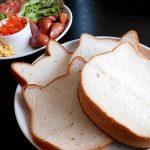 ねこねこ食パンは甘くてかわいい猫型食パン。手土産にもぴったりです。