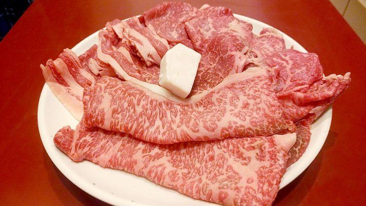 肉の丸徳の牛肉