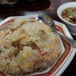 戦前から続く中華屋「龍華(りゅうか)」(三軒茶屋・駒沢大学)はまるで龍宮城。チャーハンもスープも餃子も王道のおいしさでした