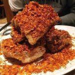 鉄板中華 青山シャンウェイ(神宮前・神楽坂・銀座)の毛沢東スペアリブはインパクト大!ボリューミーなコースは味もお腹も大満足でした