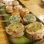 野菜巻き串 薄田商店(学芸大学)はボリューミーな野菜巻き串とホロホロジューシーなゆでタンが名物のてっぺん系居酒屋