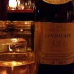 学芸大学のバー「BAR BULBS(バルバス)」で出会ったウイスキー「SYNDICATE 58/6(シンジケート 58/6)」は、ブレンデッドとは思えない味わい深さだった