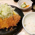 とんかつ 鴇田(学芸大学)のあっさりでオーソドックスなとんかつを食べてきた